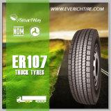 nuevos neumáticos del carro de las piezas 11r22.5 de los neumáticos automotores del presupuesto con término de garantía