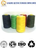 高品質縫う袋のための100%年のポリエステル縫うヤーンポリエステルによって回されるヤーン