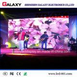 P3/P4/P5/P6 visualización de pared video de interior a todo color del alquiler LED para la demostración del acontecimiento, etapa, conferencia