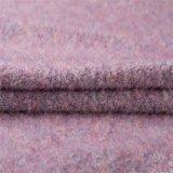 Tessuto Mixed merino delle lane del mohair per l'inverno nel colore rosa