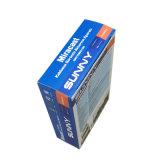 Rectángulo de empaquetado de papel de la laminación de la película del papel de la tarjeta de la alta calidad