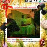 Neue Produkte IP65 imprägniern im Freien grünes rotes Stern-Weihnachtslaserlicht