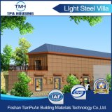 Luz de piso 2 Estrutura de aço Prefab House Building