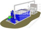 25 Tonnen Eis-Block-Maschinen-mit Ring-Rohr