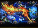 Het spel Igs van de Groef van de Machine van het Spel van de Jager van de Vissen van de Draak van de Brand Muntstuk In werking gestelde