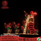 Christmas Santa Claus Motif Décoration Light for Street