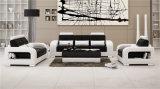 أبيض إيطاليا جلد 1+2+3 أريكة لأنّ منزل إستعمال ([هك5080])