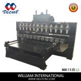 Машинное оборудование Woodworking гравировки CNC с роторным для древесины