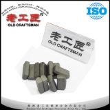 Pieza inserta en blanco de los dígitos binarios de la explotación minera del taladro de carburo de tungsteno K304