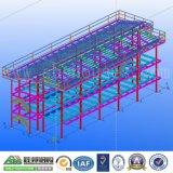 Bureau de structure métallique et immeuble préfabriqués en Thaïlande