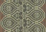 A tela do aparamento do laço do teste padrão da geometria do bordado para o vestido de casamento de Roupa interior da senhora a preço barato com MOQ pequeno jejua entrega