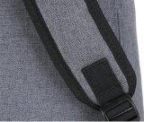 Großverkauf sackt Mehrfarbenreißverschluss-Schultaschen-Rucksack mit kundenspezifischem Firmenzeichen ein
