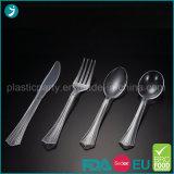 Cutlery тяжеловеса партии PS ясной/прозрачной пластмассы цвета устранимый
