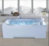 BALNEARIO de la bañera del masaje del rectángulo de 1700m m con Ce y RoHS para la sola persona (AT-LW0799)