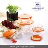 Комплект шара высокого качества 5PCS стеклянный с пластичной крышкой GB1401