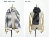Способ проверил шаль плащи-накидк шарфа зимы осени типа Unisex связанную (SK117)