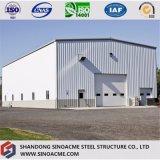 Atelier préfabriqué portique de structure métallique de qualité