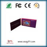 """3.5の"""" LCDのビデオパンフレットの挨拶状の名刺"""