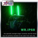 4FT 5FT 6FT 8FT RGB LED Sicherheits-Peitschen durch Fernsteuerungsänderungs-Farbe