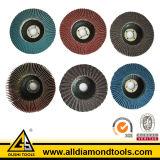 금속 (HFPD)를 위한 알루미늄 산화물 플랩 디스크
