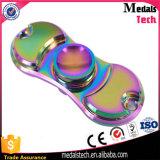 Le laiton spiralé de compas gyroscopique de doigts en métal joue le fileur en laiton de cuivre de main