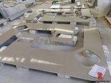 Бежевый проектированный каменный искусственний кварц для Countertops Top&Kitchen тщеты