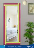 O espelho Polished da decoração/matizou o espelho de prata do vestido