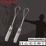 Струбцина веревочки провода для ввода металла оптического волокна Ss201