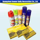 Jet pertinent d'insecticide d'utilisation de maison de qualité avec des formules chimiques inférieures de Tox