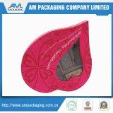 I contenitori di lusso di cioccolato con le caselle rigide di figura del cuore dell'arco del nastro svuotano l'imballaggio