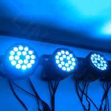 Luz al aire libre de la IGUALDAD de la etapa 18*15W LED de DMX 512