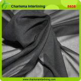 черным ткань одежды МНОГОТОЧИЯ 24GSM сплетенная вспомогательным оборудованием сплавляя обыкновенная толком Interlining