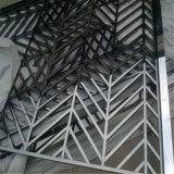 Laser decorativo das telas do metal do divisor de quarto que corta o aço inoxidável feito em China