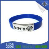 Wristband del silicone della cinghia di manopola del regalo di promozione dell'elastico