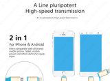 Câble usb micro de remplissage escamotable d'accessoires de téléphone mobile