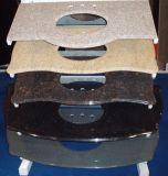 Losa prefabricada de la tapa contraria del granito para la cocina