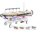 Medizinisches Krankenhauspatient-Krankenwagen-Bahre-Bett