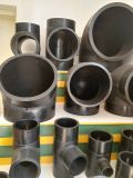 Encaixes precisos do HDPE, encaixes do HDPE 20~630mm para o encanamento, 100% conforme