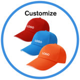 Etiqueta Privada OEM Multicolor Logotipo bordado gorra de béisbol