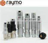 Raymo Kreiskabel-103 Verbinder des Serien-heckseitig angebrachte Steckhülsen-wasserdichter IP68