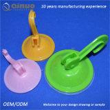 Kundenspezifische Absaugung-Haken der Farben-ABS+PVC für Hauptdekoration