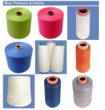 Filato di tela di miscela del rayon 15% di 85% per il lavoro a maglia e tessere