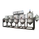 Raffinerie de pétrole de légumes en acier inoxydable pour purifier la machine Huile de tournesol brut
