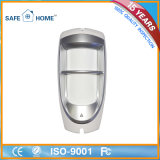 Wired Dual Element Microwave Infrared PIR detector de movimento para exterior