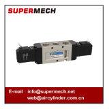 Tipo 5 válvula de SMC de solenóide pneumática do ar da maneira