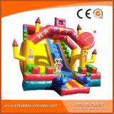 Castillo hinchables tobogán para Chrildren onda juguete infantil (T4-612)