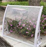 De openlucht Plastic Luifel van het Zonnescherm van de Auto van de Grootte van het Polycarbonaat van de Dekking van de Regen Grote