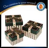 Color Impreso Joyas de Lujo Caja Caja de regalo de papel