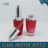 1 oz 30 ml Perfumes coloridos e fragrâncias Press Pump Dropper Glass Bottle