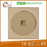 Plot de téléphone de la plaque 10A 250V 1gang de commutateur de PC